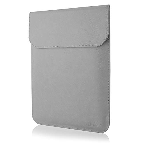 13' Synthetic Glove - All-inside Gray Synthetic Leather Sleeve for MacBook Air 13