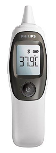 Philips DL8740/01 Infrarot Ohrthermometer mit App-Anbindung, (Nur für Deutschland)
