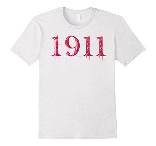 Mens Kappa Crimson Alpha Cream Psi NUPE 1911 Men's T-Shirt XL White