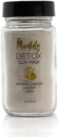 Muddy Body - Detox Clay Mask | Dead Sea Clay - Hydrating, Toning, and Detoxing Face Mask (2 oz)