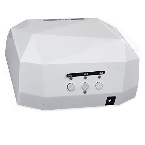NSST 36W LED Smart Auto-Sensing Lámpara de uñas Tipo de Diamante UV Gel Secador de uñas Lámpara de curado Máquina de...