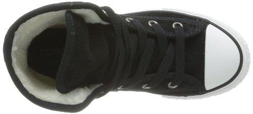 Converse Chuck Taylor Super Winter - Zapatillas de Deporte de ante Infantil negro - negro