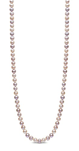 Kimura Pearls Femme  925  Argent|#Silver Rond  Perle d'eau douce chinoise Multicolore Perle
