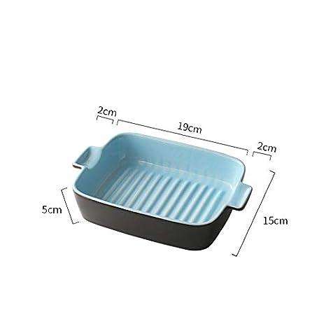 Amazon.com: Bandeja de arroz de queso de Lannmart con dos ...