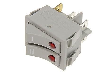 DeLonghi Interruptor Doble Radiador Aceite trsw kh77 H19 H25 H29 kh590 Trn TRS: Amazon.es: Hogar