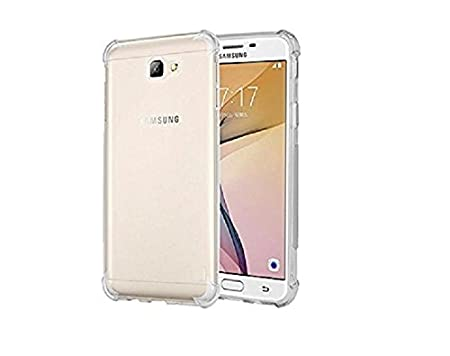 Lively Transparent Bumper Back Case Cover For Samsung Galaxy On Next [Bumper Corners] Cases   Covers