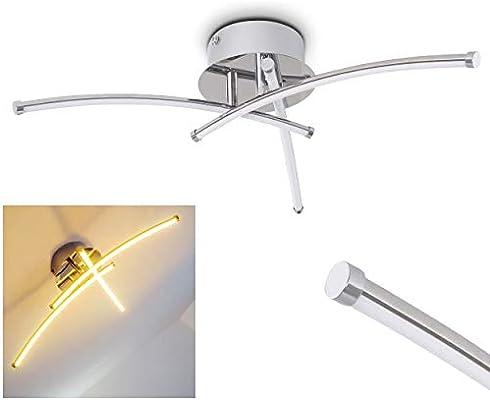 Lámpara de techo LED Hotchkiss - 12W LED alta eficiencia 3000K ...