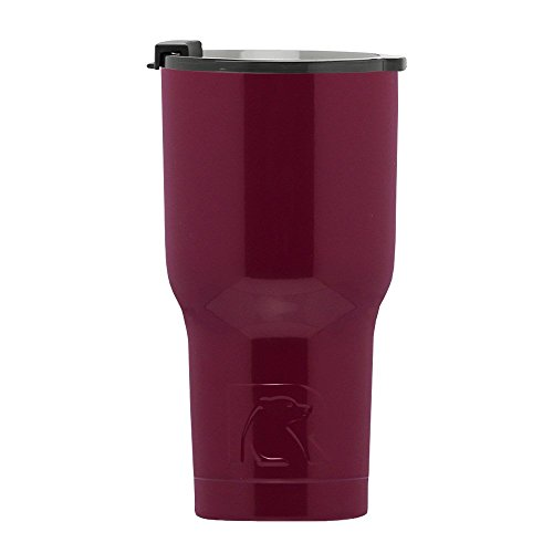 RTIC Double Wall Vacuum Insulated Tumbler, 20 oz, Maroon