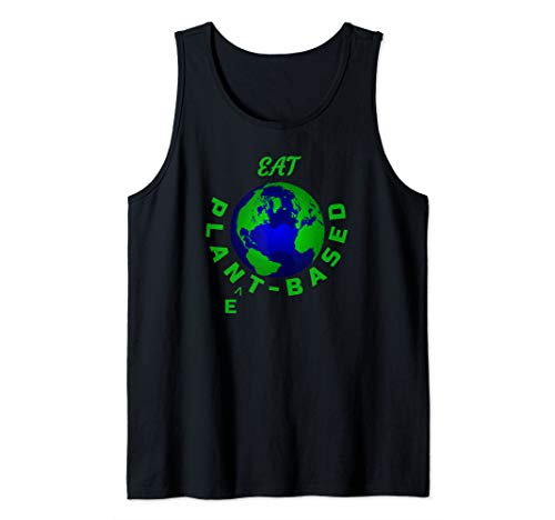 Eat Planet Based Vegan Save Earth Our Beautiful Home Tank Top