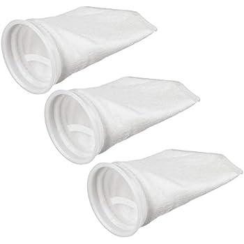 """6X Filter Sock 4""""x14"""" 100 Micron Ultra clear aquarium sump Felt socks US made"""