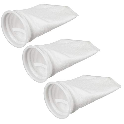 ( Polyester Felt Filter Bag | 100 Micron Rated | Aquariums, Coy Ponds, Pools, Reef Tank | Signed for Strength | Size #1, 7