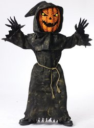 Bobble Head Pumpkin Child Costume - (Bobble Head Costume)