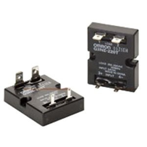 Omron G3NE-205T-US DC24 Solid State Relay, Zero Cross Function, Phototriac Coupler Isolation, 5 A Rated Load Current, 100 to 240 VAC Rated Load Voltage, 24 VDC Input Voltage