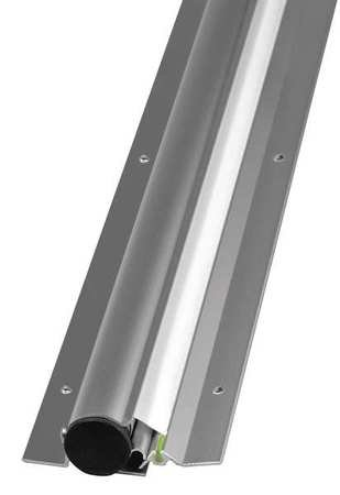 National Guard 2248A - 82'' NGP Door Edge Finger Guard, Clear Anodized, 82'' by National Guard