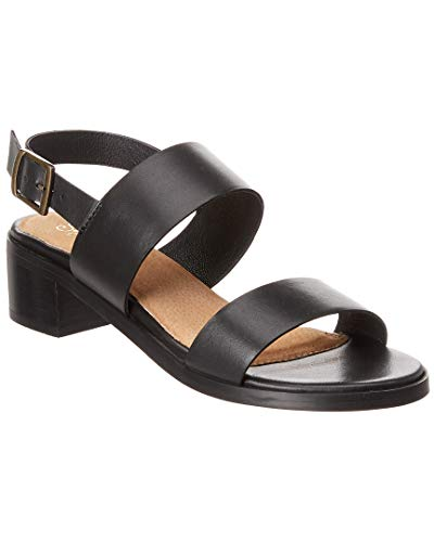 (Seychelles Mavericks Leather Sandal, 10, Black)