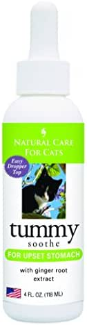 Natural Care for Cats; Tummy Soothe for Upset Stomach with Ginger Root Extract; 4 fl. oz.