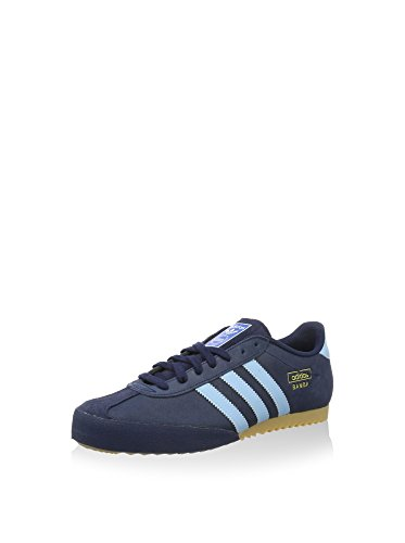 adidas Bamba, Men's Low-Top Blue/Navy