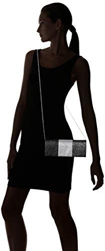 SwankySwans - Jem Sparkle Color Block, Pochette da giorno Donna Nero (Black)