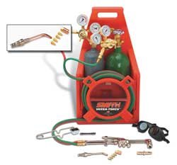 Refrigeration and A/C Outfit, AC309, 30-100-540, 30-15-200, Acetylene Fuel, AW1A Torch Handle