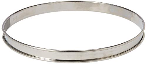 - Matfer Bourgeat 371615 Plain Stainless Steel Tart Ring, 9.5