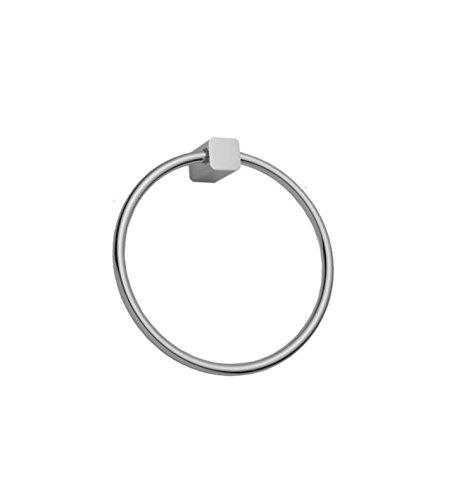 Polished Copper Standard Plumbing Supply Jaclo 5401-TR-PCU Cubix Towel Ring