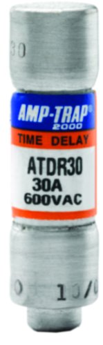 Mersen ATDR30 600V 30A Cc Time Delay Fuse, 10-Pack