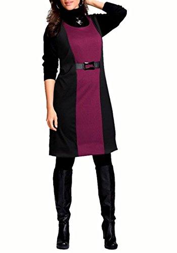 cyclam M Damen I Mehrfarbig Jerseykleid schwarz M Kleid 580qAw