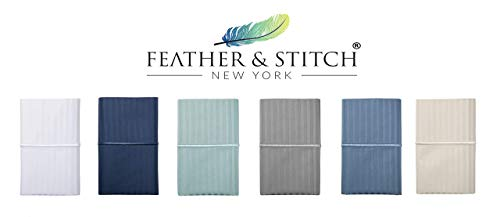 Feather & Stitch 500 Thread Count 100% Cotton Sheet Set