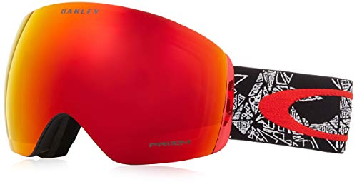 Oakley OO7050-57 Flight Deck Snow Goggles, Craneos Muertos, Large