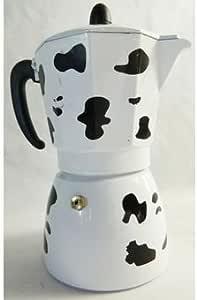 Cafetera italiana Design Décor vaca 9 tazas café cocinas excepto ...