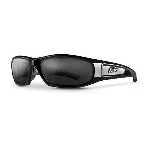 LIFT Safety Switch Safety Glasses (Black Frame/Smoke ()