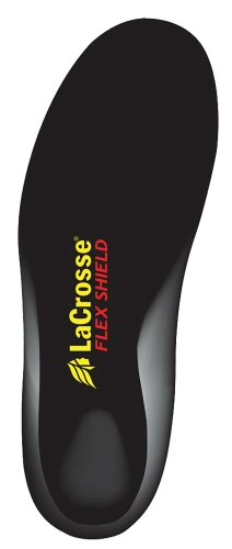 LaCrosse Men's Flex Shield Insoles,Black,12 ()