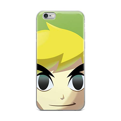 iPhone 6 Plus/6s Plus Case Anti-Scratch Gamer Video Game Transparent Cases Cover Who's That Link Gaming Computer Crystal Clear (Zelda Legend Of The Wind Waker Cheats)