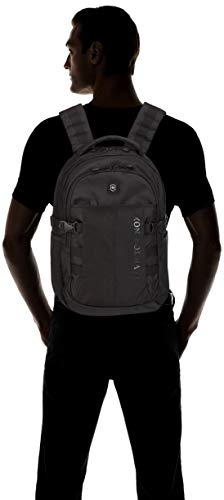 31T84xFBs L - Victorinox Vx Sport Cadet Laptop Backpack Black Logo, One Size