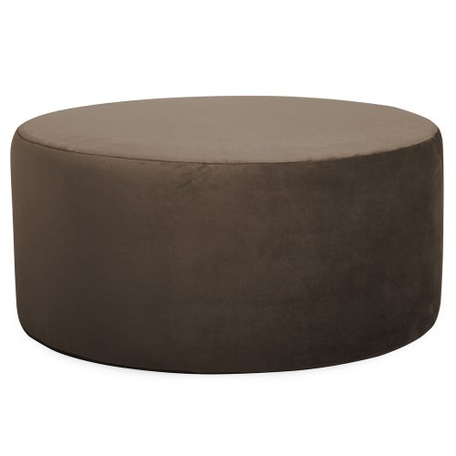 Howard Elliott C132-220 Replacement Cover for Universal Round Ottoman, 36-Inch, Bella Chocolate