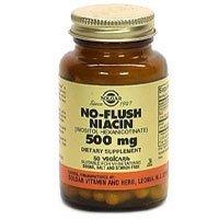 Solgar - No-Flush Niacin 500mg - 100 - Veg / Cap