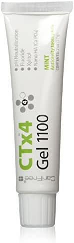 CariFree CTx4 Gel 1100 (Mint): Anti-Cavity Toothpaste | Cavity Repair | Freshens Breath and Moistens Mouth | Dentist Recommended for Oral Care