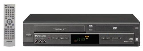 Panasonic PV-D4744 Progressive-Scan DVD/VCR Combo , Black