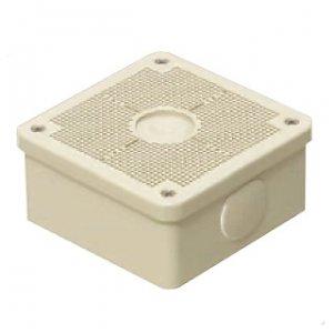 未来工業 【お買い得品 10個セット】 露出用四角ボックス 取付自在蓋 ベージュ PV4B-ANF1J_10set B0167V27Z6