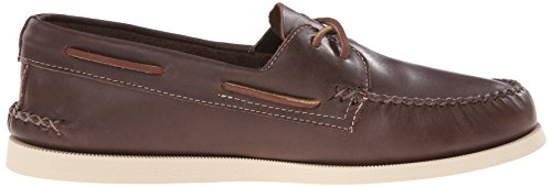 Sperry Top-sider Heren A / O 2-eye Wedge Lederen Bootschoen Bruin