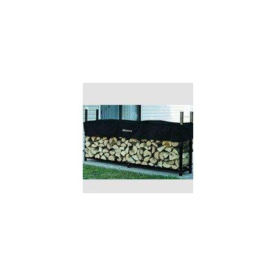 Steel Log Rack Finish: Black, Size: 48'' H x 96'' W x 14'' D