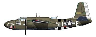 Havoc La France Libre Airplane Die Cast World War Aircraft 1:72 Scale Model