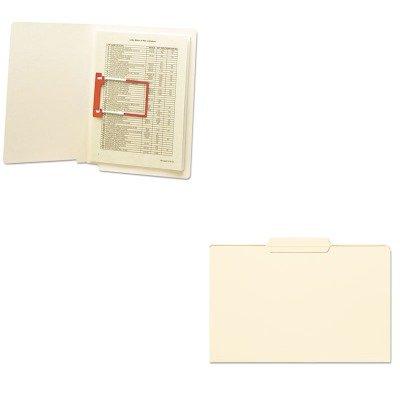 (KITSMD15336SMD68260 - Value Kit - Smead File Folder (SMD15336) and Smead U-Clip Bonded File Fasteners)