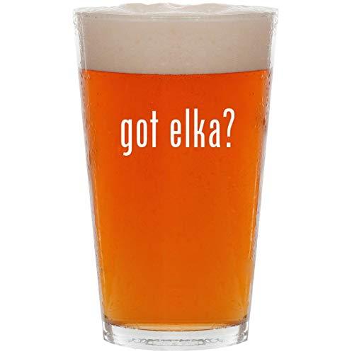 got elka? - 16oz All Purpose Pint Beer Glass