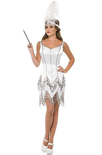[Mememall Fashion 1920's Fever Flapper Dazzle Adult Costume] (Han Solo Costume Girl)