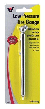 Gauge Pressure Pencil (LOW PRESSURE TIRE GAUGE by VICTOR MfrPartNo 22-5-00887-8)