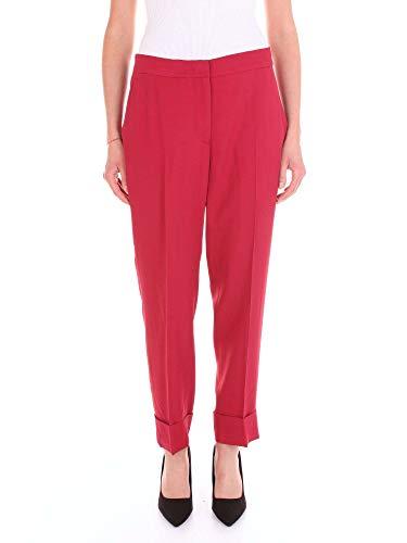 Femme Cn05vsanz00std Pantalon Bveq8ux4wq Viscose Pt01 Rouge tgx600