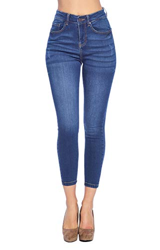 Blue Age Women's High Rise Skinny Ankle Jeans (JP1103H_MD_9)