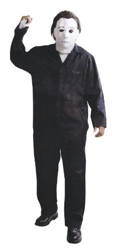 Costumes For All Occasions Pm801219 Michael Myers W Mask Dlx (All Michael Myers Mask)