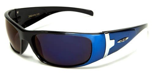 X Loop Mens / Womens / Unisex Athletic Sport Designer Fashion Sunglasses with UV400 Lens - Available in Black / Silver / Red / Blue / Orange / Brown - - Fake Oakleys Custom